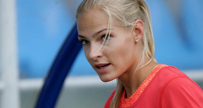 Daria Klíshina, atleta rusa