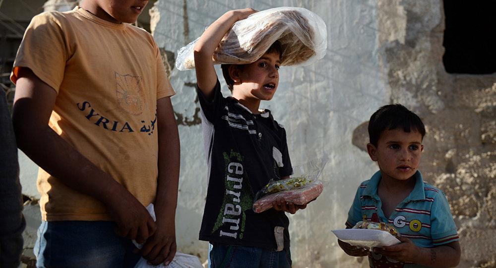 Familias de Latakia y Tartus reciben 1.500 kg de ayuda humanitaria