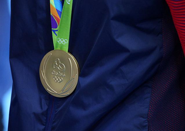 La medalla de oro