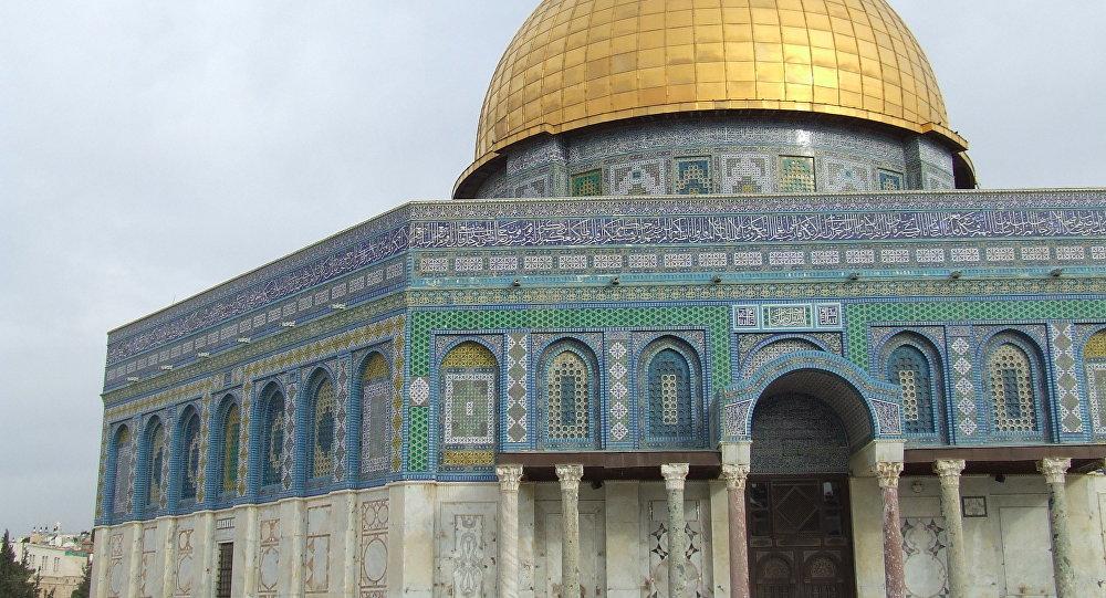 Domo de la Roca en la Explanada de las Mezquitas, Jerusalén (imagen referencial)