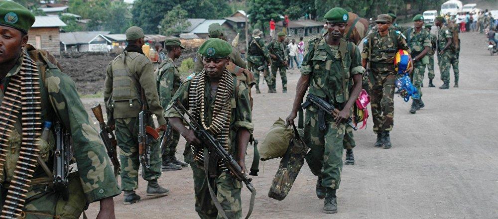 El ejército de la República Democrática de Congo