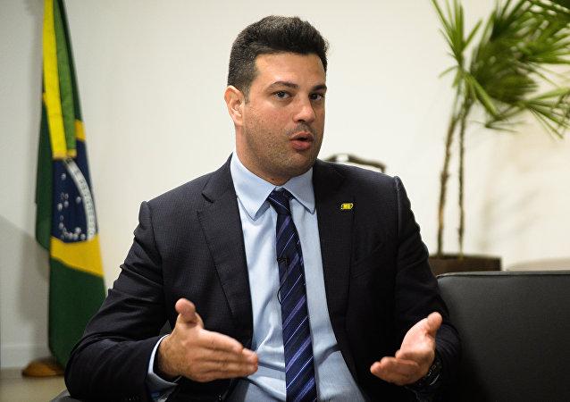 Leonardo Picciani, ministro de Deportes del Gobierno de Brasil