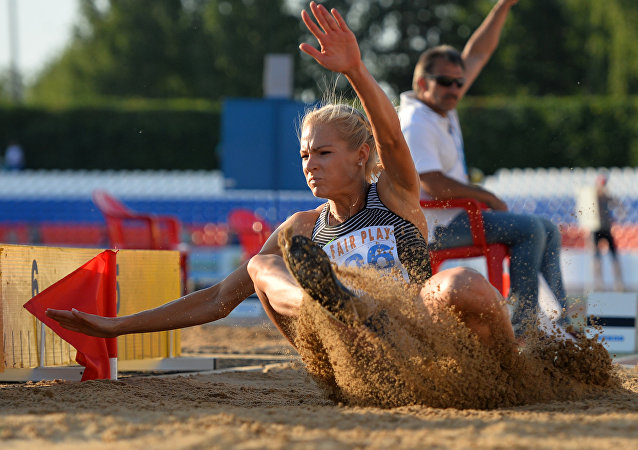Darya Klishina, la atleta rusa