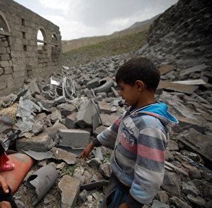 Niños en Yemen