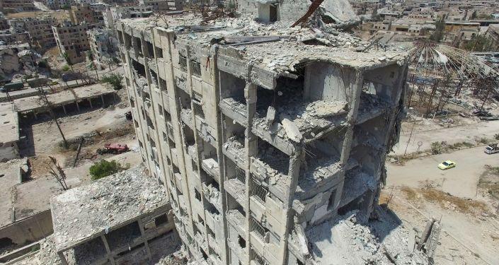 Alepo en ruinas: las imágenes desde el aire