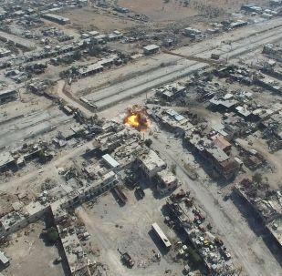 Ataques contra los objetivos terroristas en Alepo, Siria (archivo)