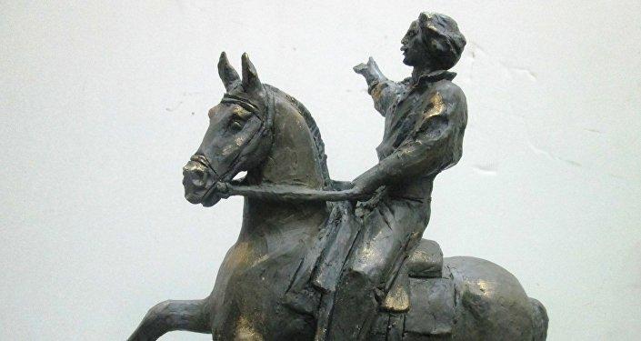 La maqueta del monumento a José Martí