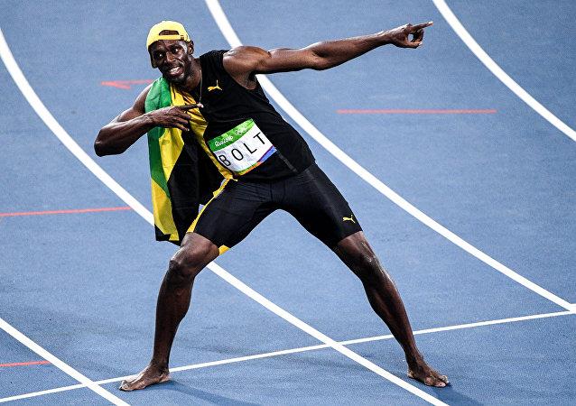 Usain Bolt, campeón olímpico, 2016