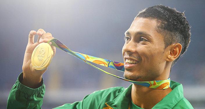 El medallista de oro de Sudáfrica, Wayde van Niekerk