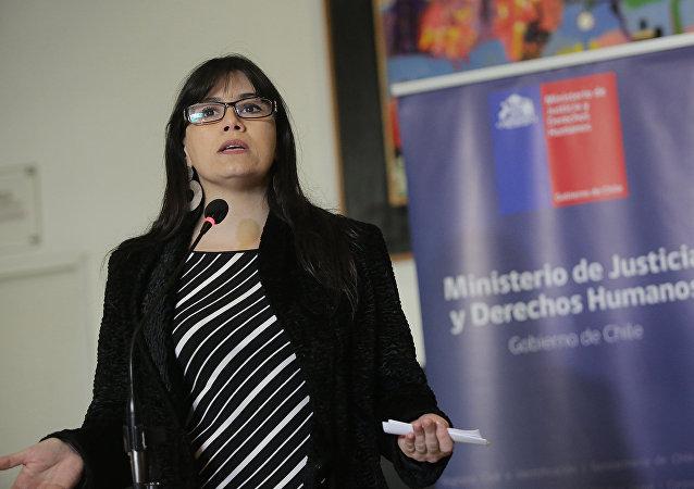 Javiera Blanco, Ministra de Justicia de Chile