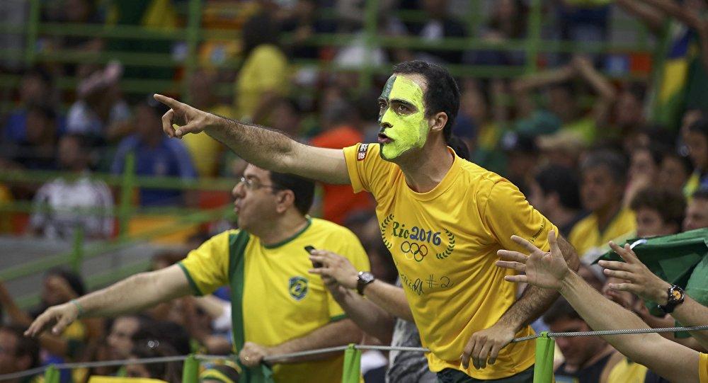 Hinchas brasileños (archivos)