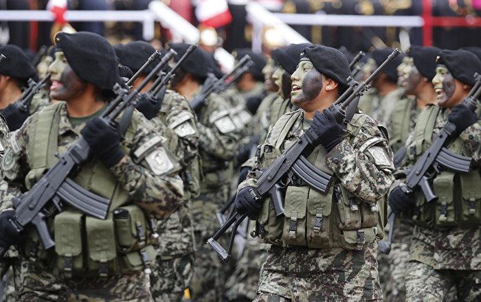 Perú autoriza intervención de FFAA contra minería ilegal en frontera con Ecuador