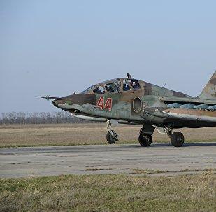 Un avión militar ruso (archivo)