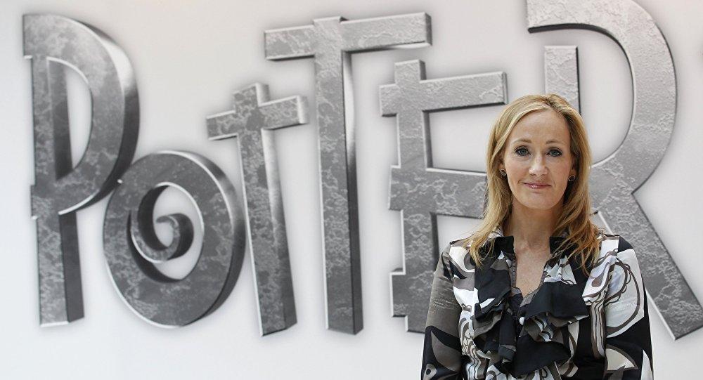 J. K. Rowling, la autora de los libros sobre Harry Potter