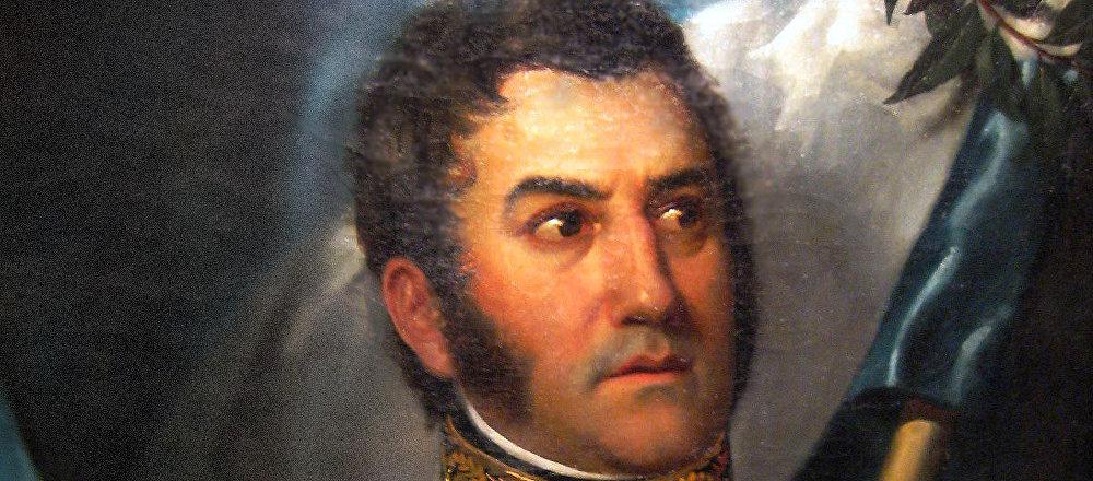 El retrato más canónico de José de San Martín (ilustración)