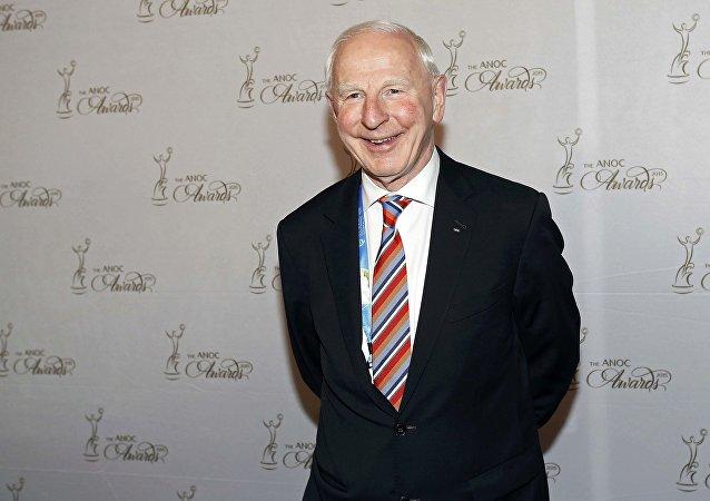 Patrick Joseph Hickey, miembro del COI y presidente del Comité Olímpico de Irlanda