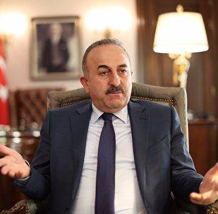 Mevlut Cavusoglu, ministro de Asuntos Exteriores de Turquía (archivo)