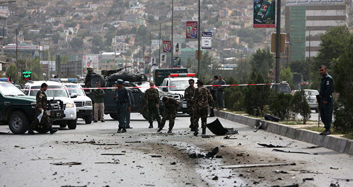 Lugar de un ataque talibán en Afganistán (archivo)