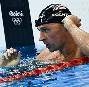El nadador Ryan Lochte en JJOO 2016