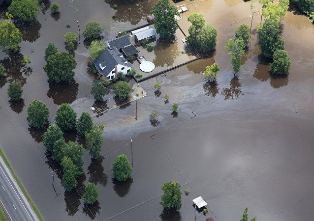 Inundación en Luisiana