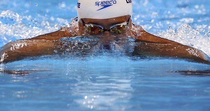 Ryan Lochte, el nadador estadounidense