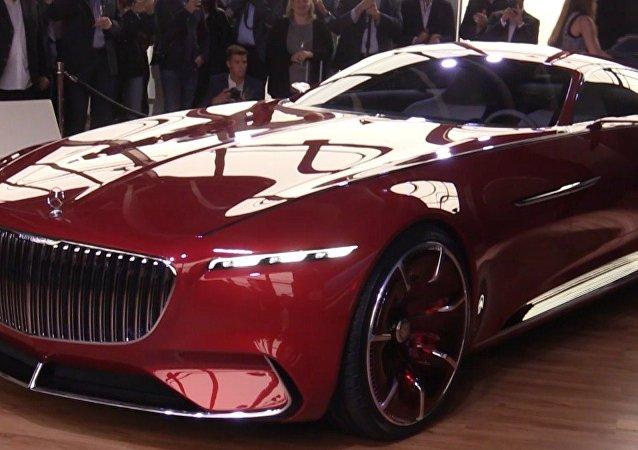 Vision 6, el futuro de Mercedes-Benz