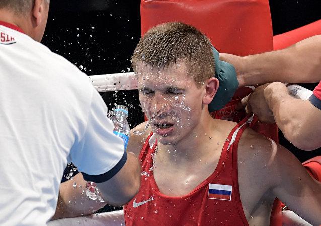 Vitaly Dunaytsev, el boxeador ruso