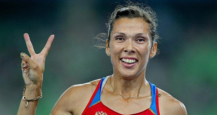 Anastasia Kapachinskaya, atleta rusa