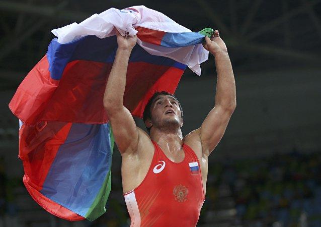 Abdulrashid Sadulaev, luchador ruso