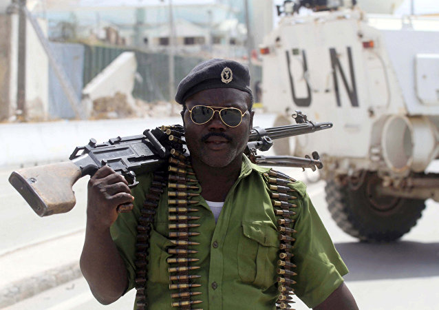 La policía de Somalia
