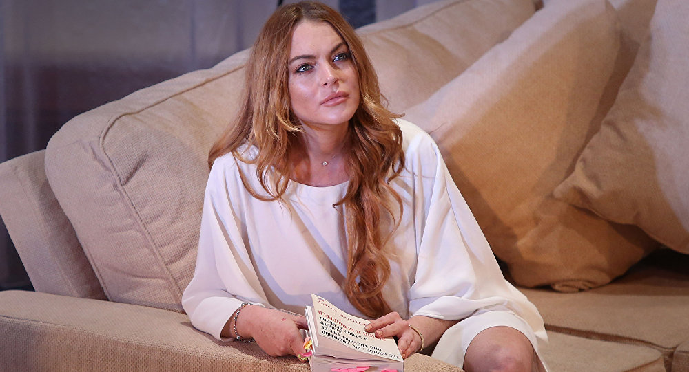 Lindsay Lohan, la actriz estadounidense