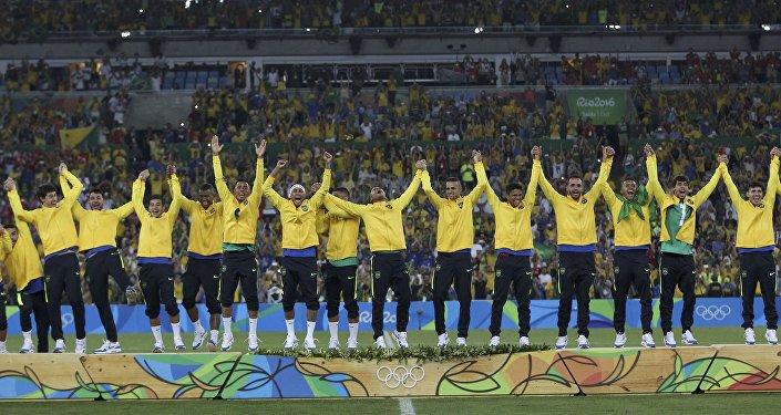 El equipo de fútbol de Brasil