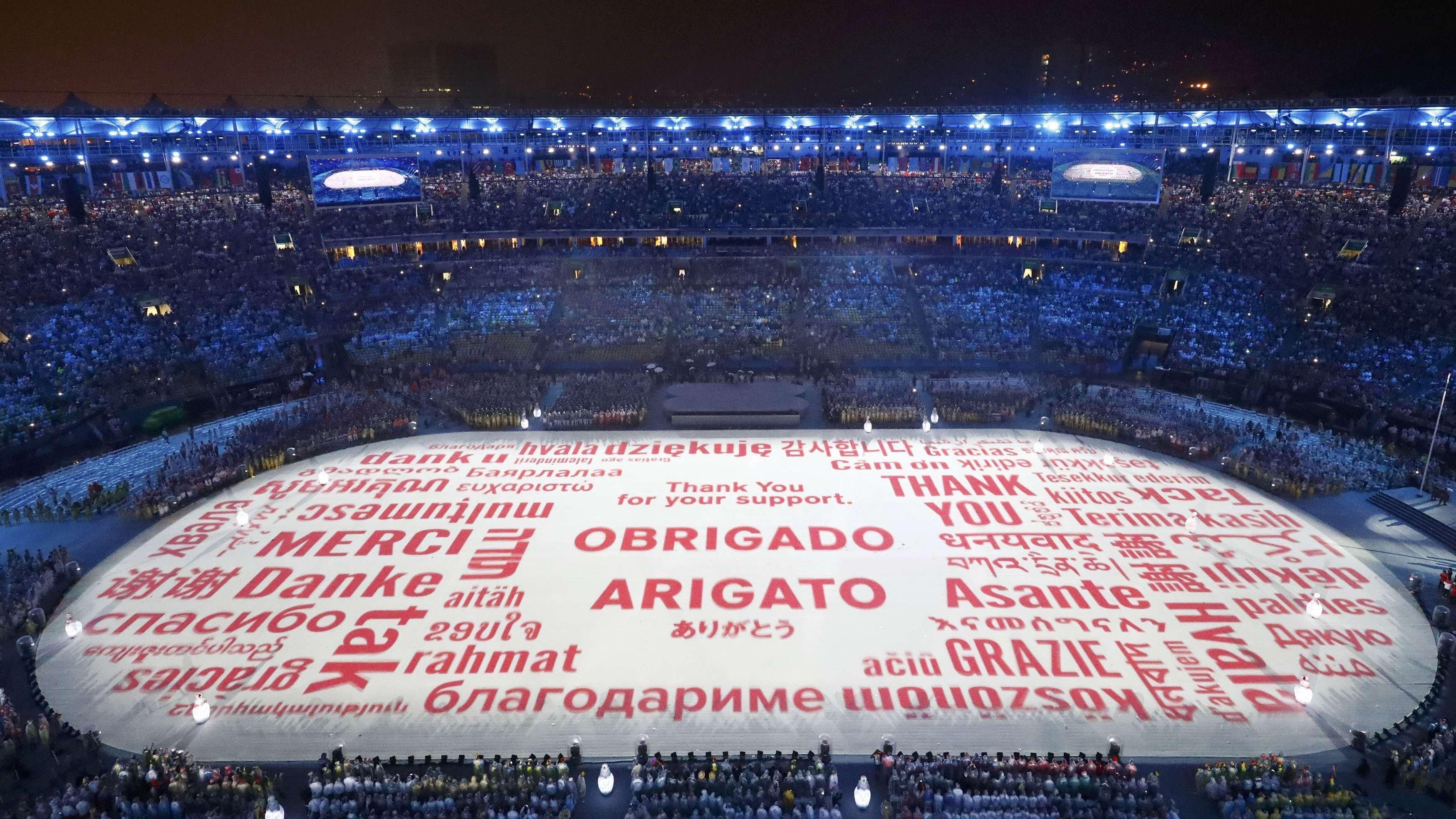 Las palabras gracias en portugués, japonés y otros idiomas