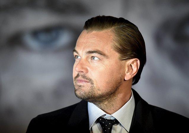 Leonardo DiCaprio, el actor estadounidense