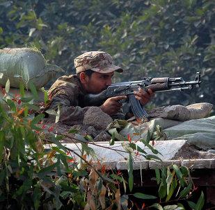 Un soldado del ejército paquistaní (archivo)