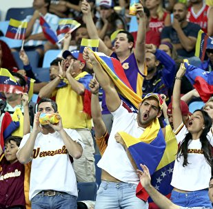 Hinchas de la selección venezolana en Río