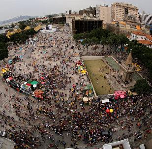 El boulevard olímpico de Río de Janeiro