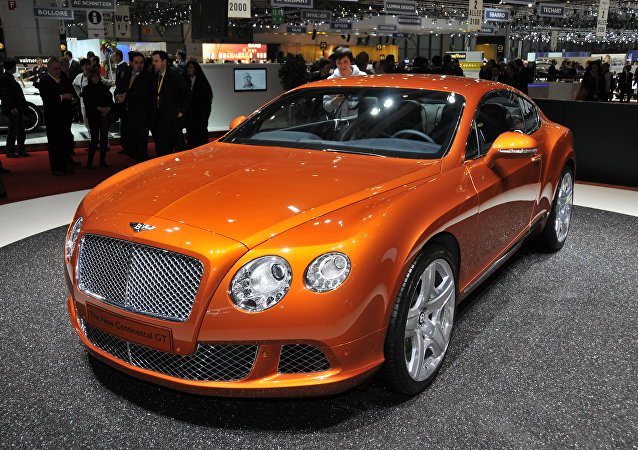 Bentley Continental (Archivo)