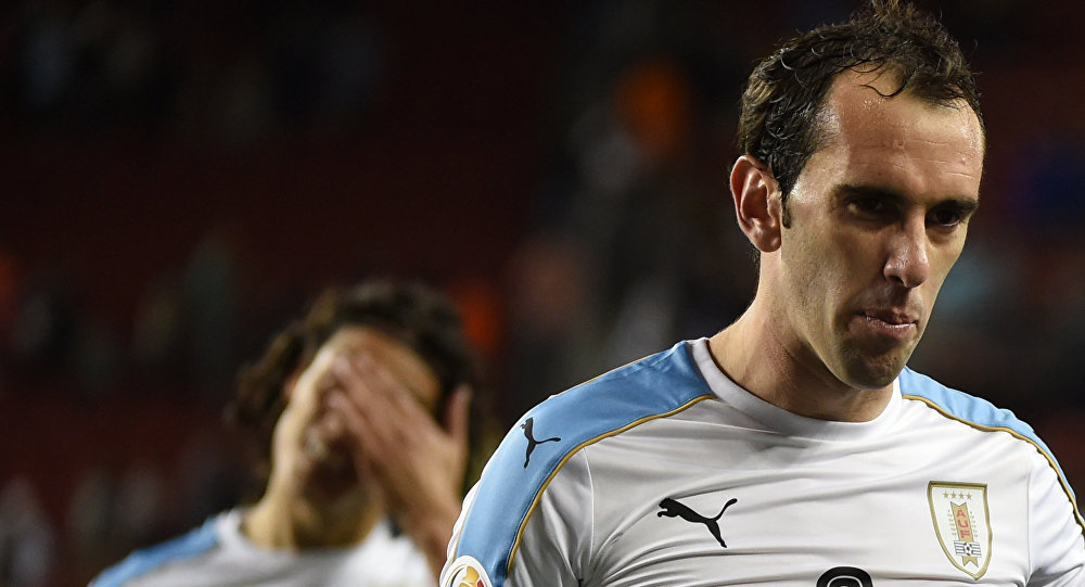Diego Godín, futbolista uruguayo