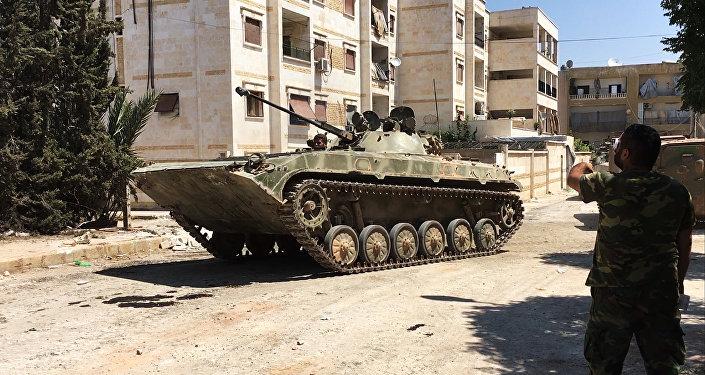 Ejército de Siria en Alepo