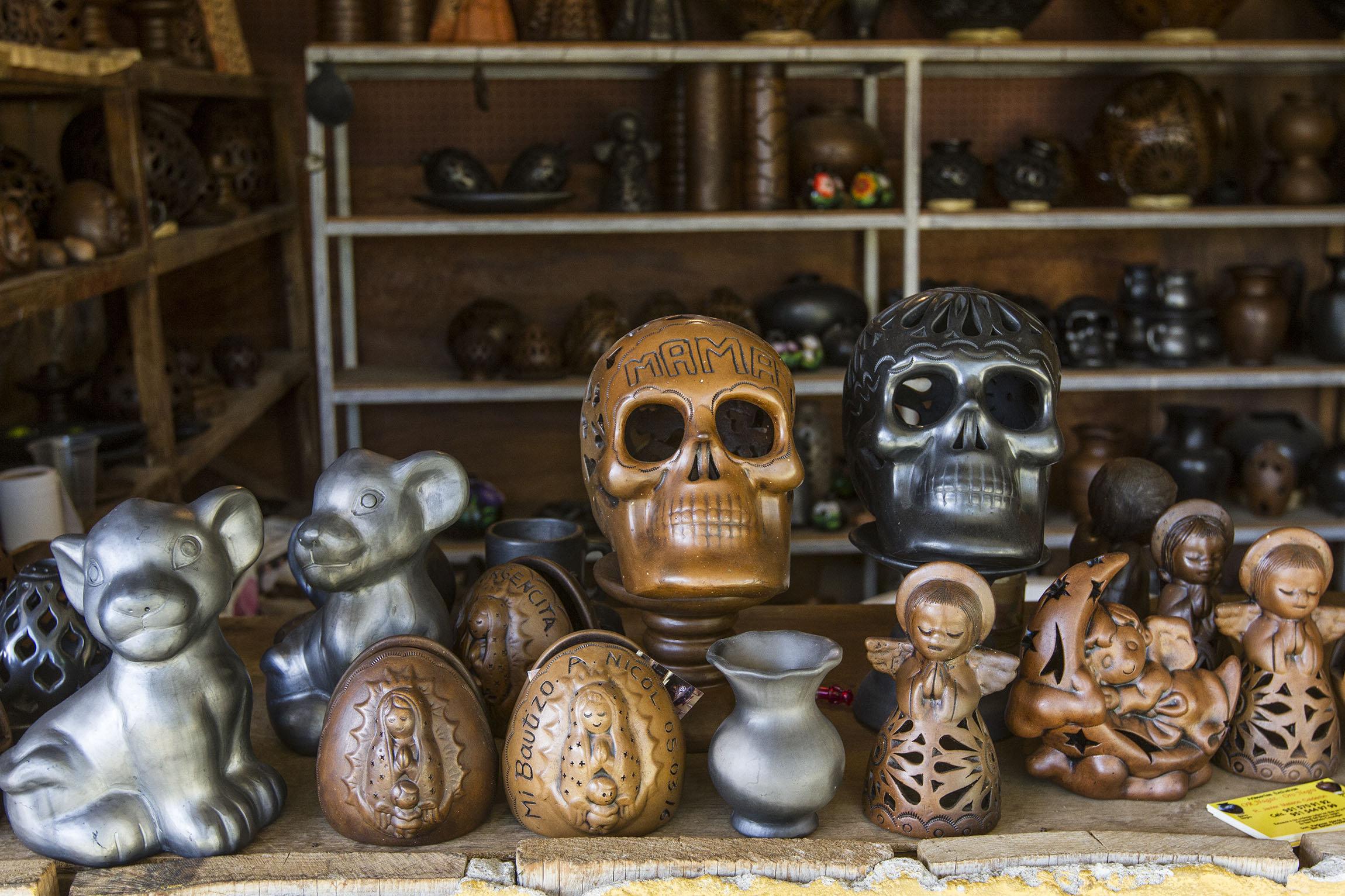 San Bartolo Coyotepec Pueblo Oaxaqueño Que Atesora El Barro Negro