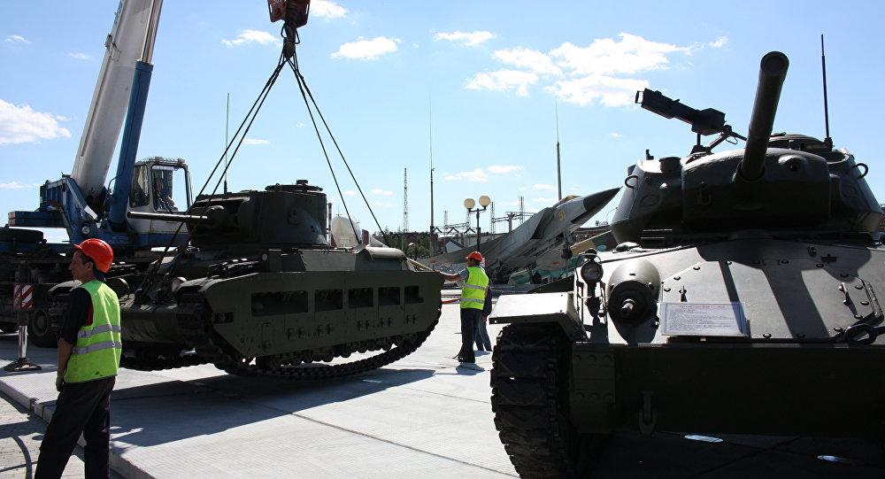 Museo 'La gloria militar de los Urales'