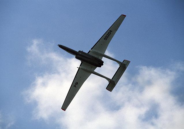 El avión ruso M55 Geofísica