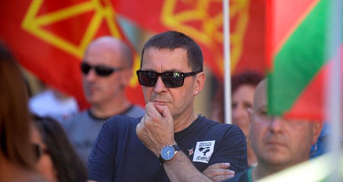 El histórico dirigente vasco Arnaldo Otegi