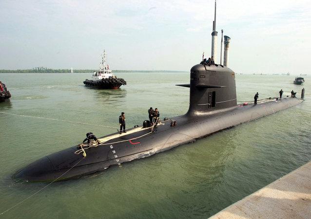 Scorpene, submarino francés