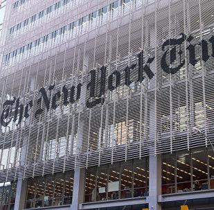El edificio del diario The New York Times en Nueva York