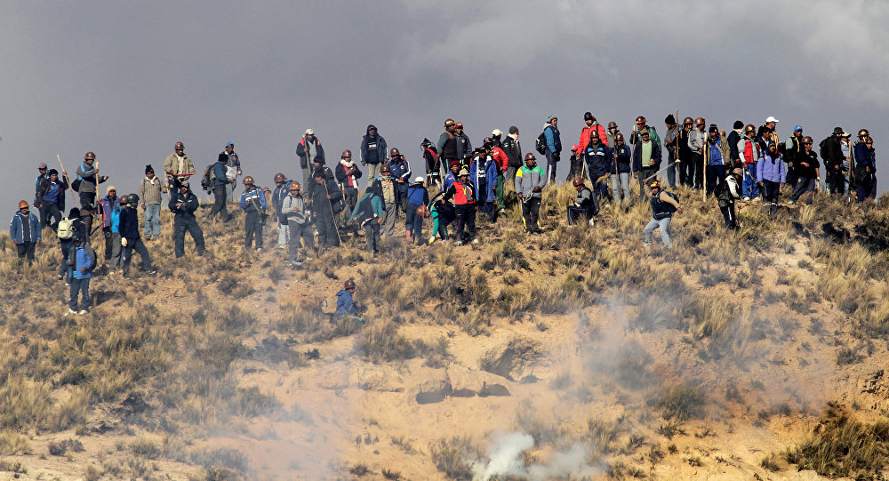 Resultado de imagen para bolivia cooperativistas mineros