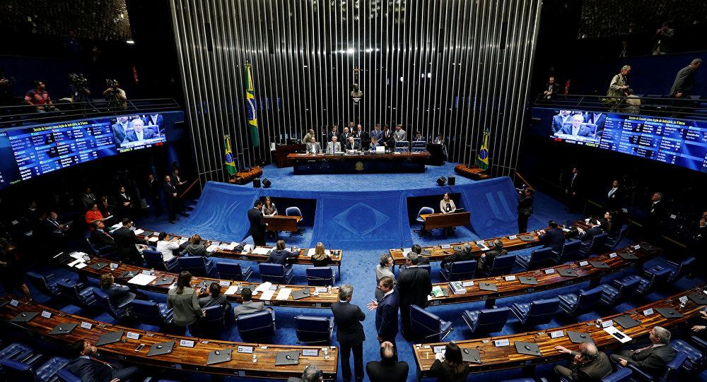 El senado de Brasil