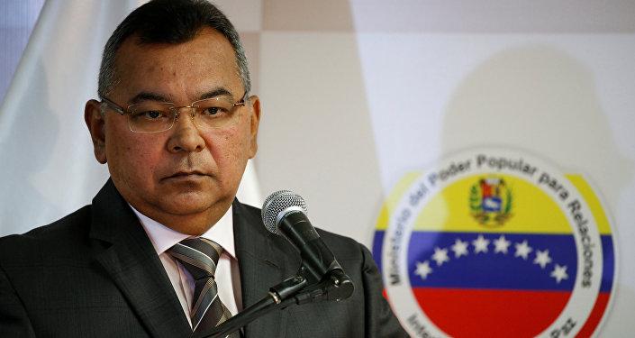 Venezuela's Interior and Justice Minister Nestor Reverol