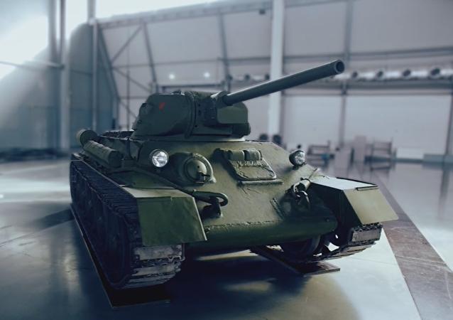 T-34, el 'tanque de la victoria'